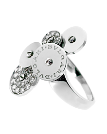 Bulgari Cicladi Diamond White Gold Ring
