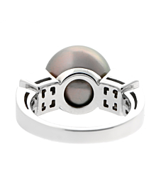 Bulgari Lucea Pearl Diamond Ring - Bulgari Jewelry