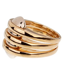 Bulgari Vintage Yellow Gold Cocktail Ring