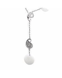 Carrera y Carrera Diamond Aqua White Gold Necklace - Carrera y Carrera Jewelry