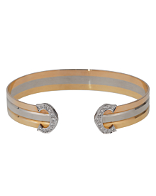 Cartier C de Cartier Diamond Cuff Bracelet - Cartier Jewelry