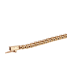 Cartier Tennis Diamond Yellow Gold Anklet - Cartier Jewelry