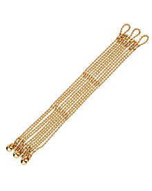 Cartier Yellow Gold Draperie Womens Bracelet - Cartier Jewelry