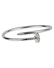 Cartier Juste Un Clou White Gold Diamond Bangle Bracelet - Cartier Jewelry