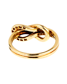 Cartier Love Knot Diamond Gold Ring - Cartier Jewelry