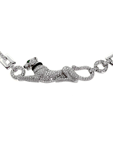Cartier Panthere Diamond White Gold Necklace 2