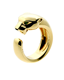 Cartier Panthere Gold Ring - Cartier Jewelry