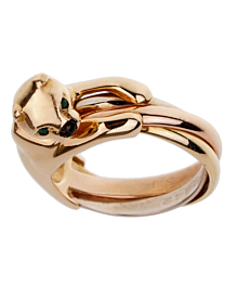 Cartier Panthere Trinity Yellow Gold Ring - Cartier Jewelry