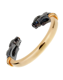 Cartier Panthere Vintage Gold Bangle Bracelet - Cartier Jewelry