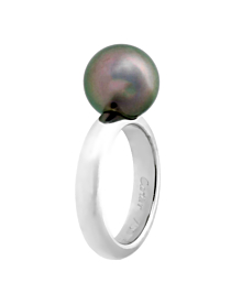 Cartier Pearl White Gold Ring - Cartier Jewelry