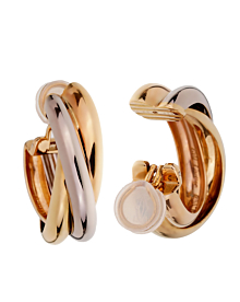 Cartier Trinity Extra Large Hoop Gold Earrings - Cartier Jewelry