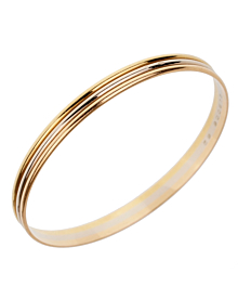 Cartier Trinity Slip On Gold Bangle Bracelet - Cartier Jewelry