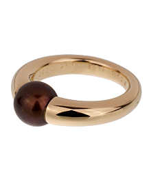 Cartier Black Pearl Yellow Gold Ring - Cartier Jewelry