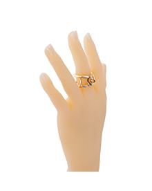 Hermes Chaine d'Ancre Yellow Gold Ring - Hermes Jewelry