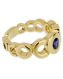 Chanel Coco Sapphire Yellow Gold Ring - Chanel Jewelry