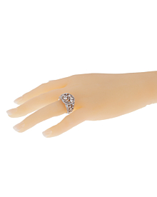 Chanel Cosmos Multi Shaped Diamond Cocktail Gold Ring - Chanel Jewelry