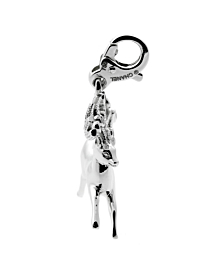 Chanel Diamond Reindeer Charm Pendant - Chanel Jewelry