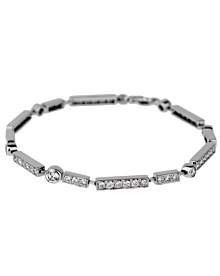 Chanel Diamond Tennis White Gold Bracelet