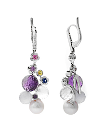 Chanel Mademoiselle Pearl Diamond Earrings - Chanel Jewelry
