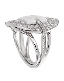 Chanel Ultra Diamond White Gold Ceramic Ring - Chanel Jewelry