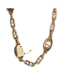 Christian Dior Sautoir Diamond Gold Necklace - Dior Jewelry