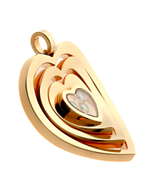 Chopard Happy Diamond Rose Gold Necklace 79721-5004