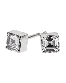 Chopard Ice Cube Square Cut Diamond Stud Earrings - Chopard Jewelry