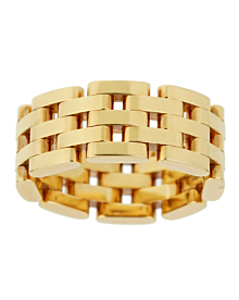Chopard Les Chaines Rose Gold 5 Row Ring - Chopard Jewelry