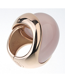 De Grisogono 79 Carat Pink Quartz Rose Gold Ring - De Grisogono Jewelry
