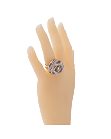 De Grisogono Matassa White Gold Diamond Ring - De Grisogono Jewelry