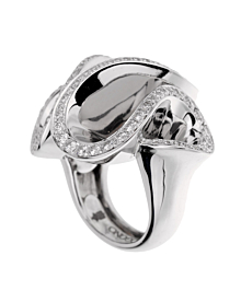 De Grisogono Zigana White Gold Diamond Ring - De Grisogono Jewelry
