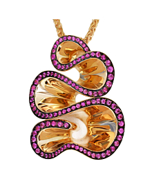De Grisogono Zigana Rose Gold Pendant Necklace