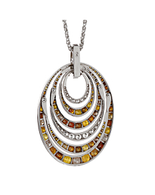 De Grisogono Fancy Diamond White Gold Necklace