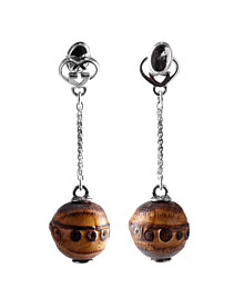 Gucci Bamboo Double G Silver Drop Earrings - Gucci Jewelry