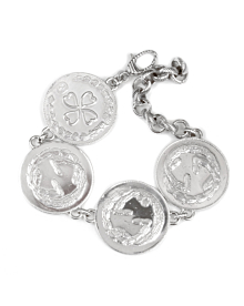 Gucci Lucky Charm Silver Bracelet - Gucci Jewelry