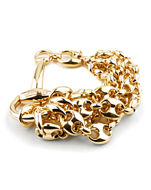 Gucci Horsebit Multistrand Gold Bracelet - Gucci Jewelry