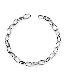 Gucci Oval Link Charm Silver Bracelet - Gucci Jewelry