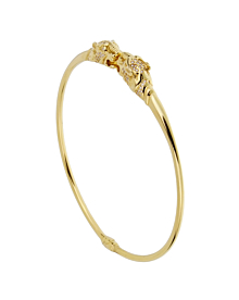 Gucci Panther Diamond Yellow Gold Necklace - Gucci Jewelry