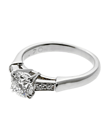 Harry Winston Diamond Engagement Ring - Harry Winston Jewelry
