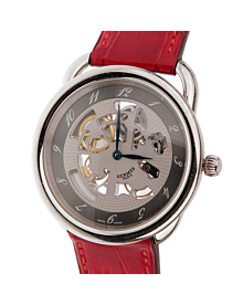 Hermes Arceau Anniversary Limited Edition White Gold Watch - Hermes Jewelry