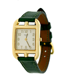 Hermes Yellow Gold Cape Cod Wristwatch - Hermes Jewelry