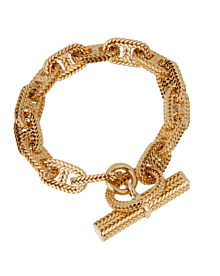 Hermes Chaine D'Ancre Yellow Gold Bracelet - Hermes Jewelry