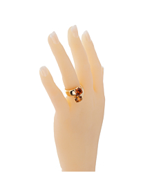 Hermes Bypass Cocktail Gold Ring - Hermes Jewelry