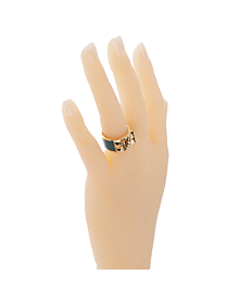 Hermes Collier De Chien Gold Ring - Hermes Jewelry