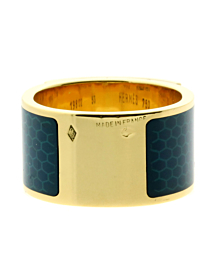 Hermes Collier De Chien Gold Enamel Ring 2