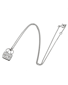 Hermes Constance Charm Diamond Pendant Necklace - Hermes Jewelry