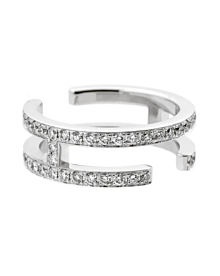 Hermes Diamond Gold H Eternity Ring - Hermes Jewelry