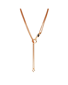 Hermes Galop Rose Gold Diamond Necklace - Hermes Jewelry