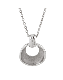 Hermes Graffiti White Gold Pendant Necklace