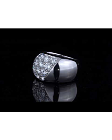 Cartier Diamond White Gold Ring - Cartier Jewelry